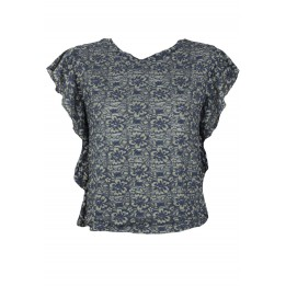 Tricou Promod Sally Dark Blue