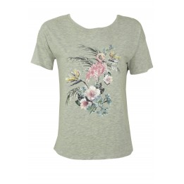 Tricou Ibisler Collection Simple Grey