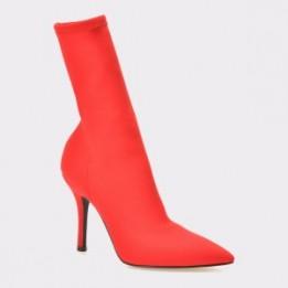Cizme EPICA rosii, 112, din material textil