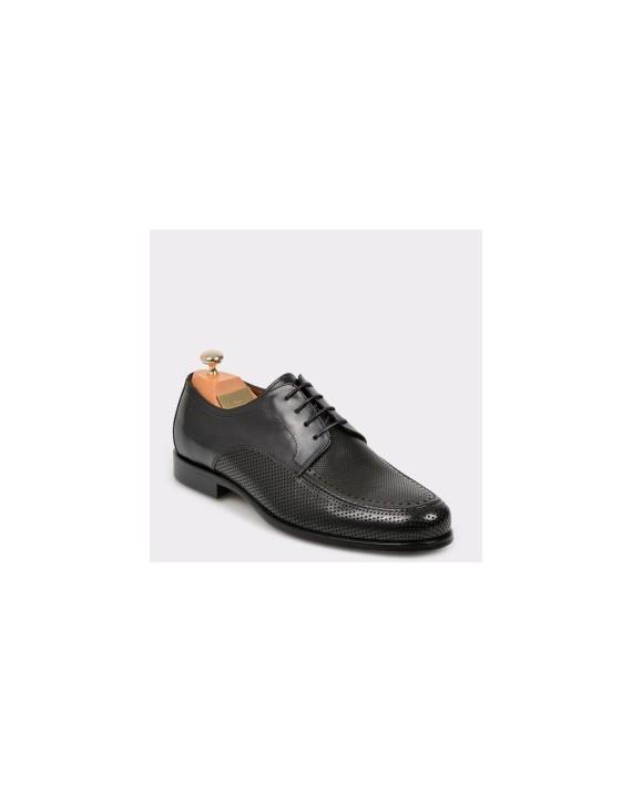 Pantofi LE COLONEL negri, 60201, din piele naturala