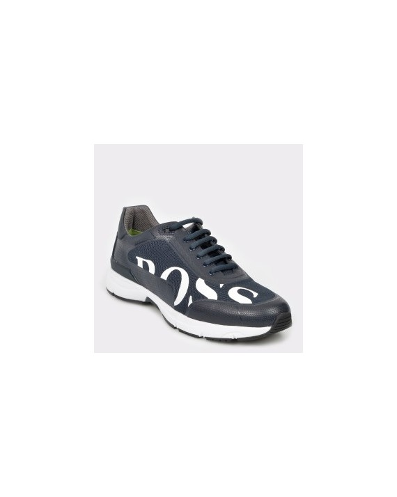 Pantofi sport HUGO BOSS bleumarin, 7613, din material textil