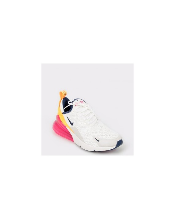 Pantofi sport NIKE albi, Ah6789, din material textil