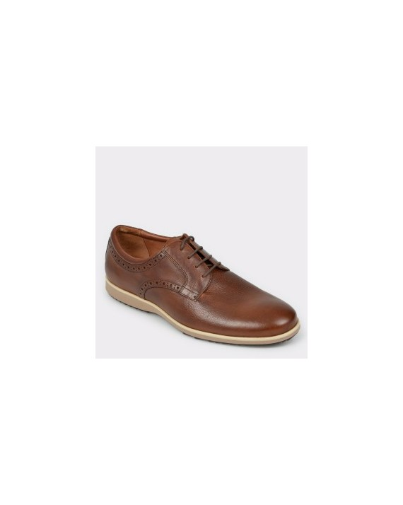 Pantofi GEOX maro, U926Qb, din piele naturala