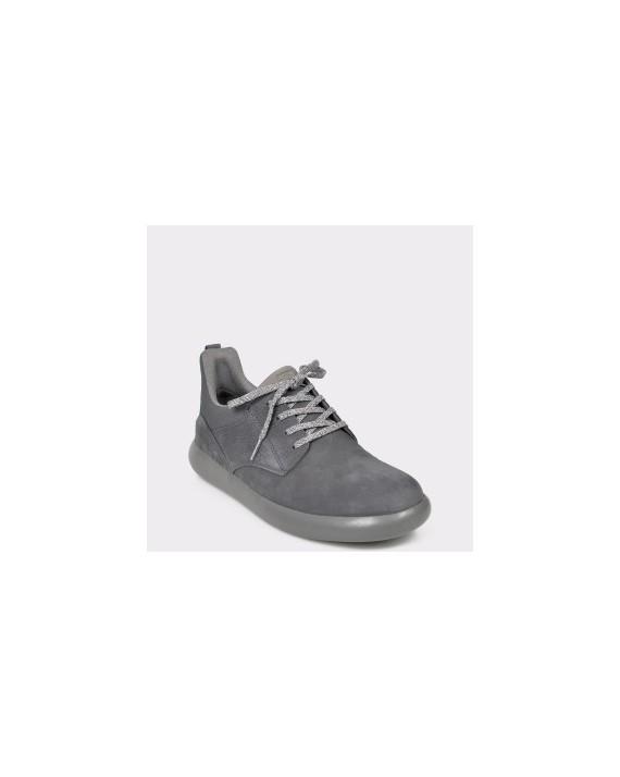 Pantofi sport CAMPER gri, K100320, din material textil si piele naturala