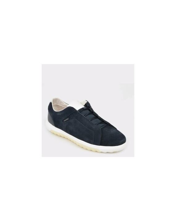 Pantofi GEOX bleumarin, U927Ga, din piele intoarsa