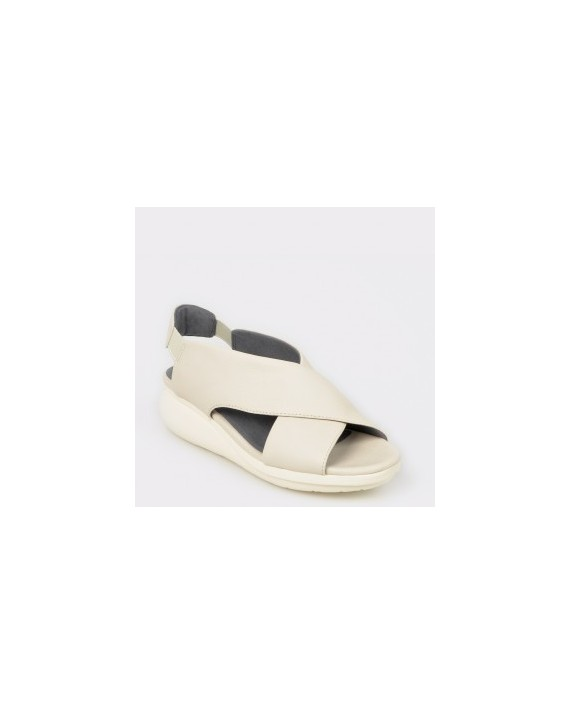 Sandale CAMPER bej, K200066, din piele naturala