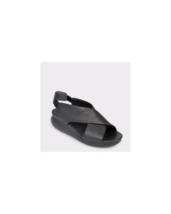 Sandale CAMPER negre, K200066, din piele naturala