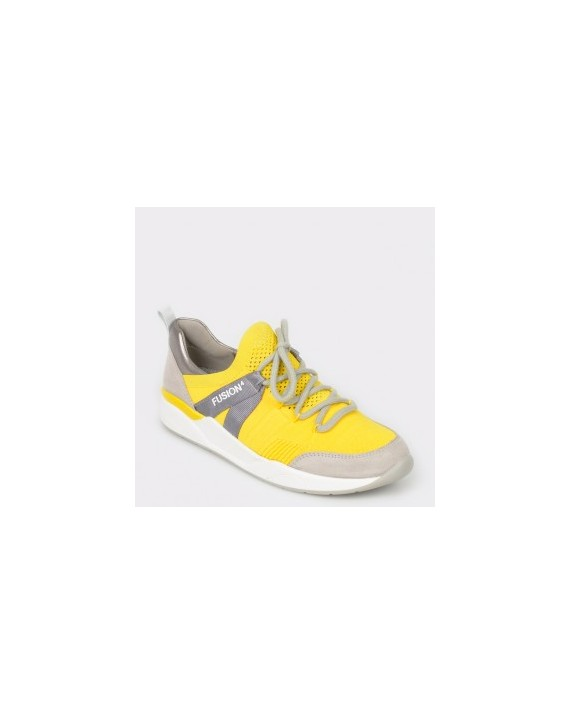 Pantofi sport ARA galbeni, 14681, din material textil