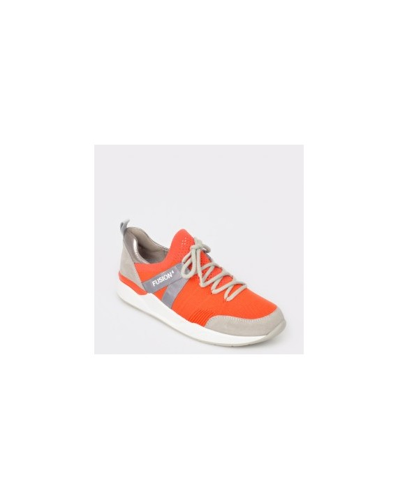 Pantofi sport ARA portocalii, 14681, din material textil