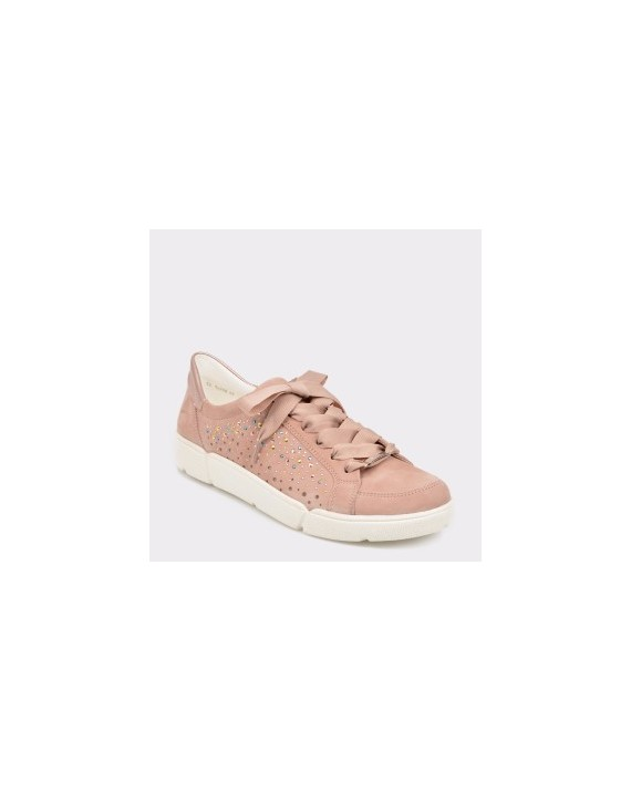 Pantofi sport ARA roz, 14402, din nabuc