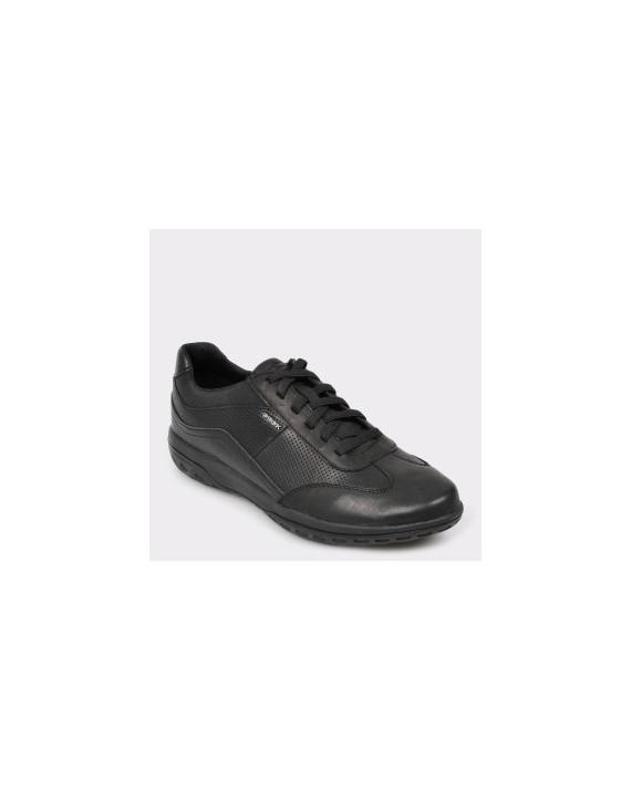 Pantofi GEOX negri, U924Aa, din piele ecologica