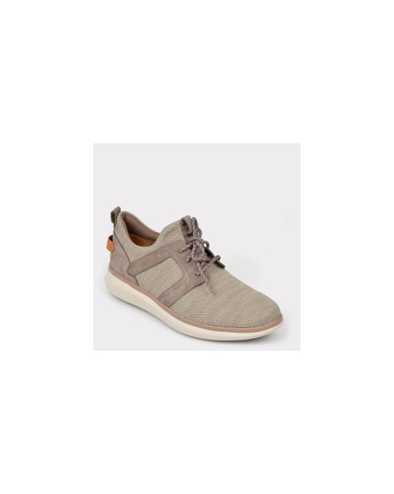 Pantofi sport CLARKS bej, Unglola, din material textil