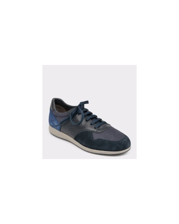 Pantofi sport GEOX bleumarin, U926Na, din piele ecologica