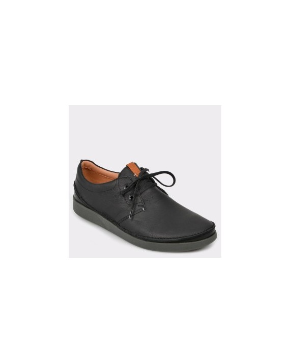 Pantofi CLARKS negri, Oakllac, din piele naturala