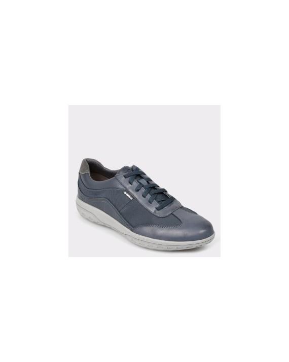 Pantofi GEOX bleumarin, U924Aa, din piele naturala si material textil