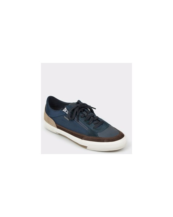 Pantofi sport GEOX bleumarin, U926Mc, din material textil