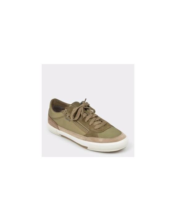 Pantofi sport GEOX kaki, U926Mc, din material textil