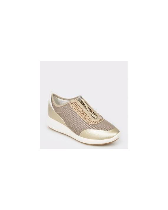 Pantofi GEOX bej, D621Ce, din piele ecologica