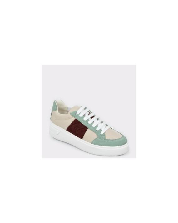 Pantofi sport GEOX multicolori, D92Byf, din piele ecologica