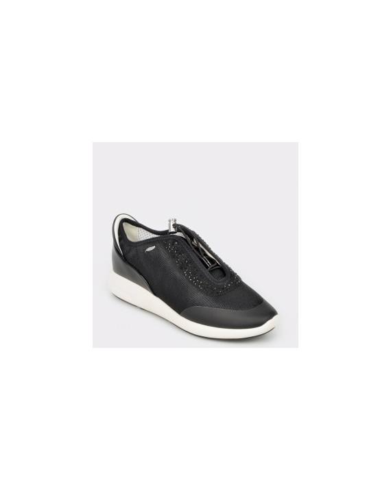 Pantofi sport GEOX negri, D621Ce, din piele ecologica
