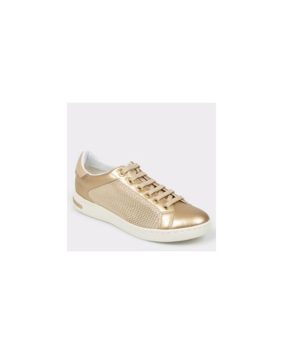 Pantofi sport GEOX aurii, D821Ba, din material textil