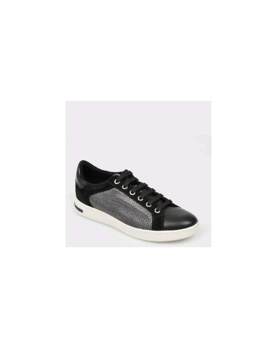 Pantofi sport GEOX negri, D821Ba, din piele naturala