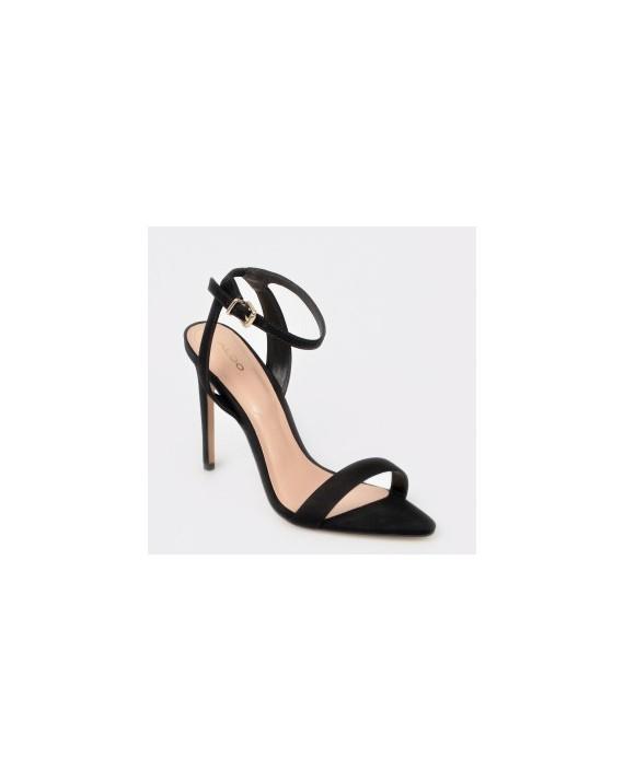 Sandale ALDO negre, Bravyan, din piele ecologica