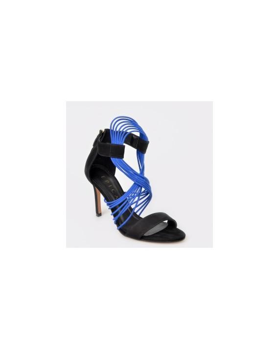 Sandale EPICA MADE IN BRAZIL negre, 3081083, din nabuc