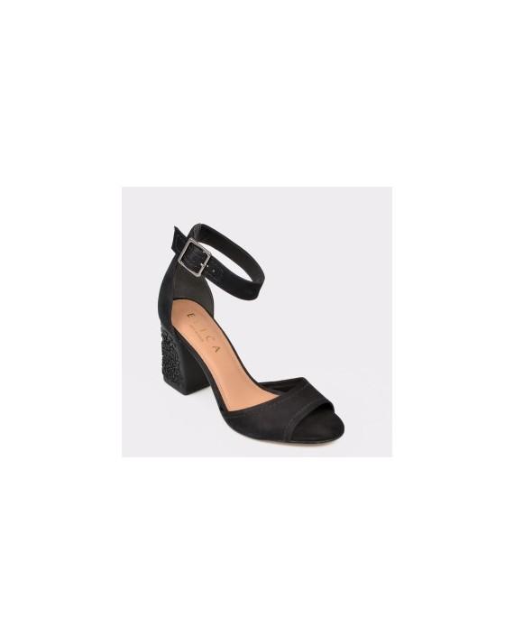 Sandale EPICA MADE IN BRAZIL negre, Malu, din nabuc