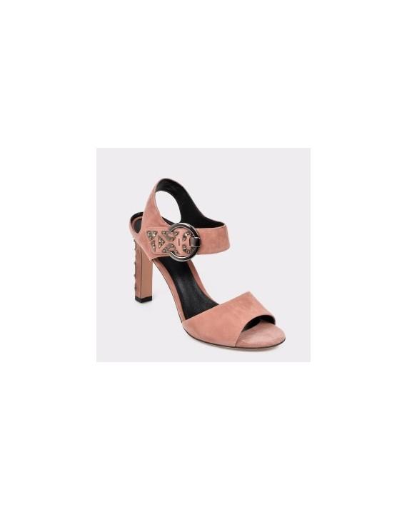 Sandale EPICA nude, Tyl2311, din piele intoarsa