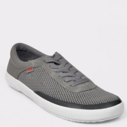 Pantofi sport CAMPER gri, 1, din material textil si piele naturala