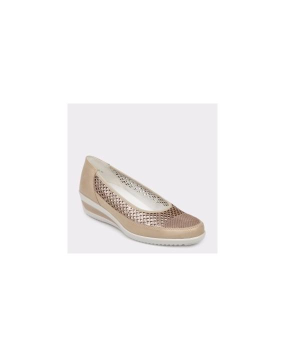 Pantofi ARA bej, 30662, din piele naturala
