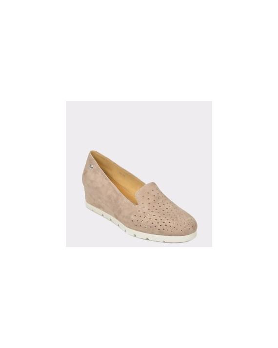 Pantofi STONEFLY gri, Milly15, din piele intoarsa