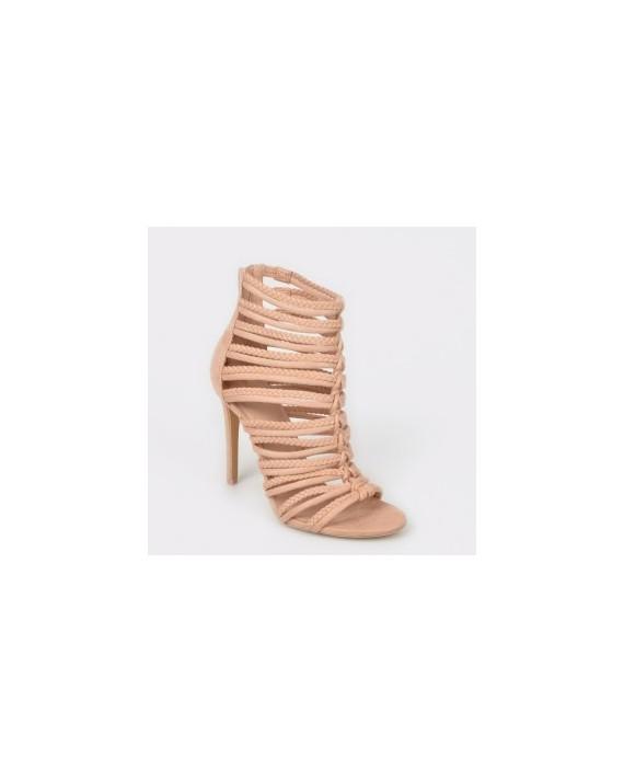Sandale ALDO nude, Rorka, din material textil