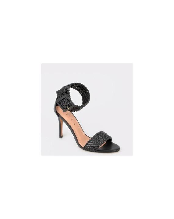 Sandale EPICA MADE IN BRAZIL negre, 3081051, din piele naturala