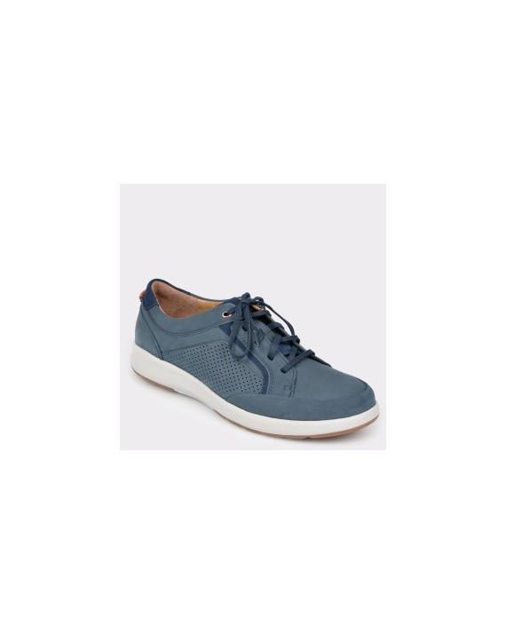 Pantofi CLARKS bleumarin, Untrafo, din nabuc