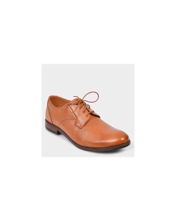 Pantofi CLARKS maro, Edwapla, din piele naturala