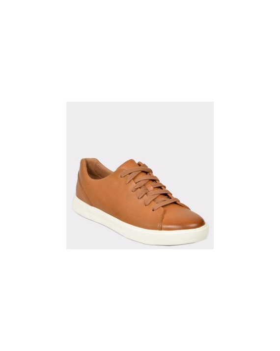 Pantofi CLARKS maro, Uncosla, din piele naturala