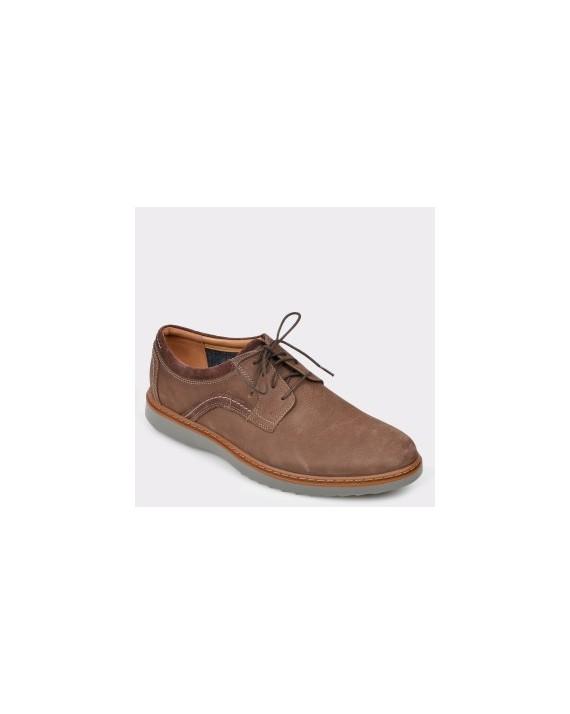 Pantofi CLARKS maro, Ungeola, din nabuc
