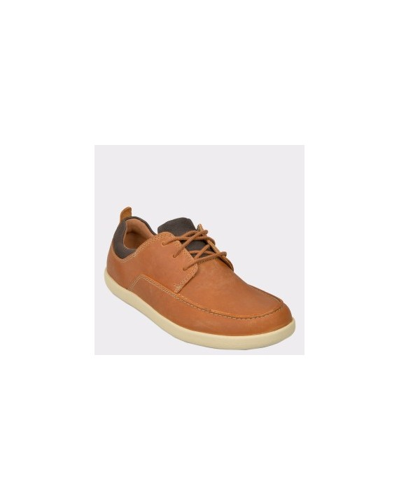 Pantofi CLARKS maro, Unlisla, din piele naturala