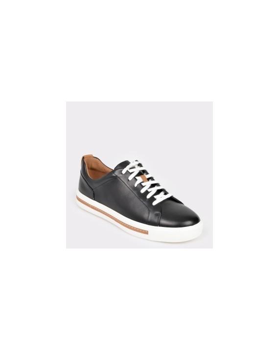 Pantofi CLARKS negri, Unmaula, din piele naturala