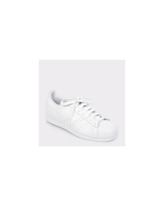 Pantofi sport ADIDAS albi, B27136, din piele naturala