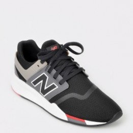 Pantofi sport NEW BALANCE negri, Ms247, din piele ecologica