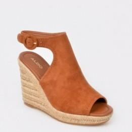 Sandale ALDO maro, NURKA, din piele naturala