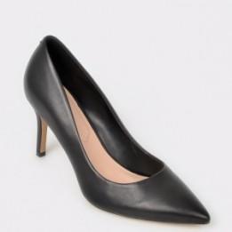 Pantofi ALDO negri, Coroniti, din piele naturala