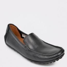 Pantofi CLARKS negri, Hamifre, din piele naturala