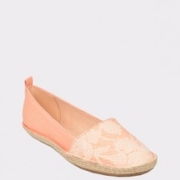 Espadrile CLARKS roz, Clovsun, din material textil