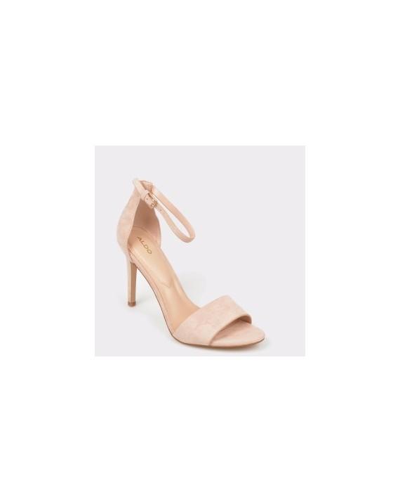 Sandale ALDO nude, Fiolla, din piele intoarsa