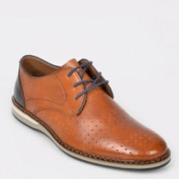 Pantofi RIEKER maro, 16811, din piele naturala