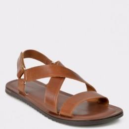 Sandale SALAMANDER maro, 75105, din piele naturala